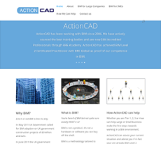 ActionCAD website history