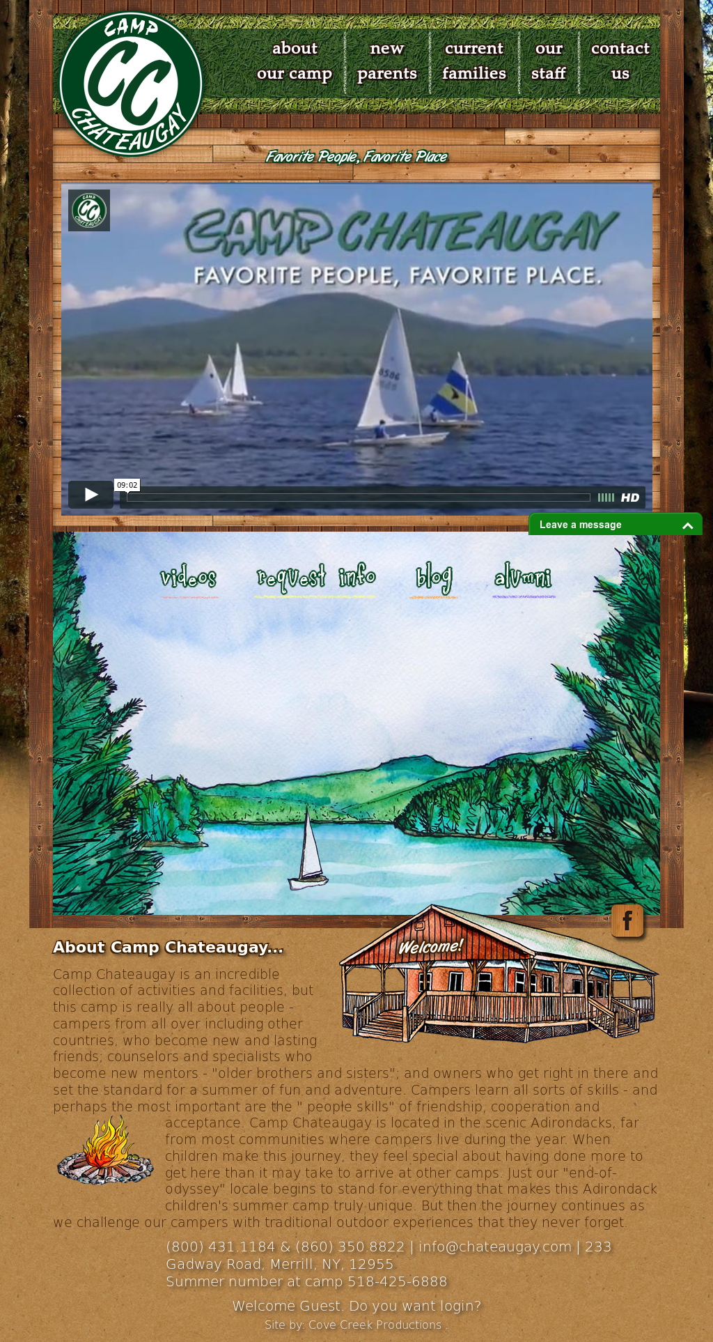 camp chateaugay competitors, revenue and employees - owler company