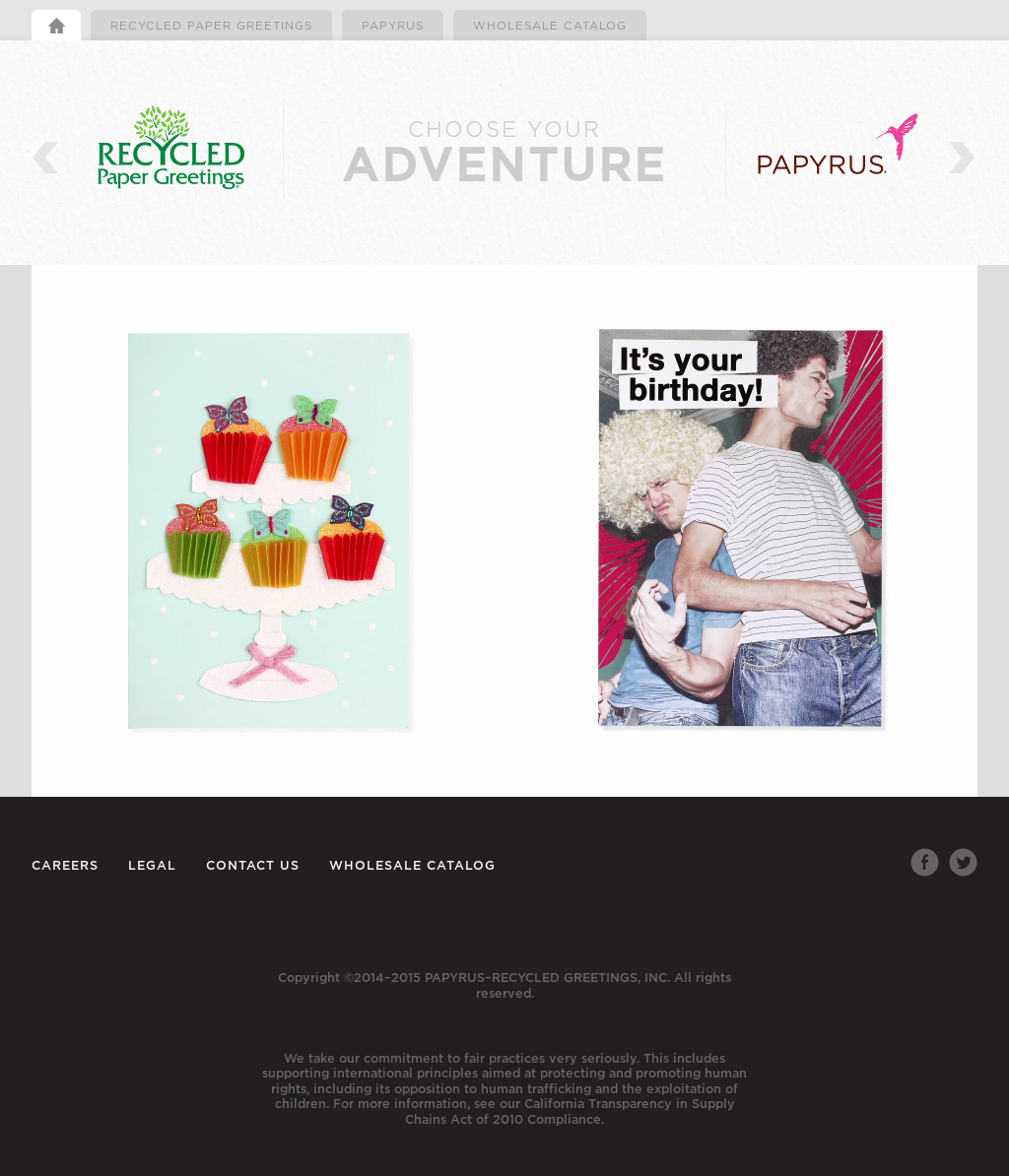 Papyrus recycled greetings company profile revenue number of papyrus recycled greetings website history kristyandbryce Gallery