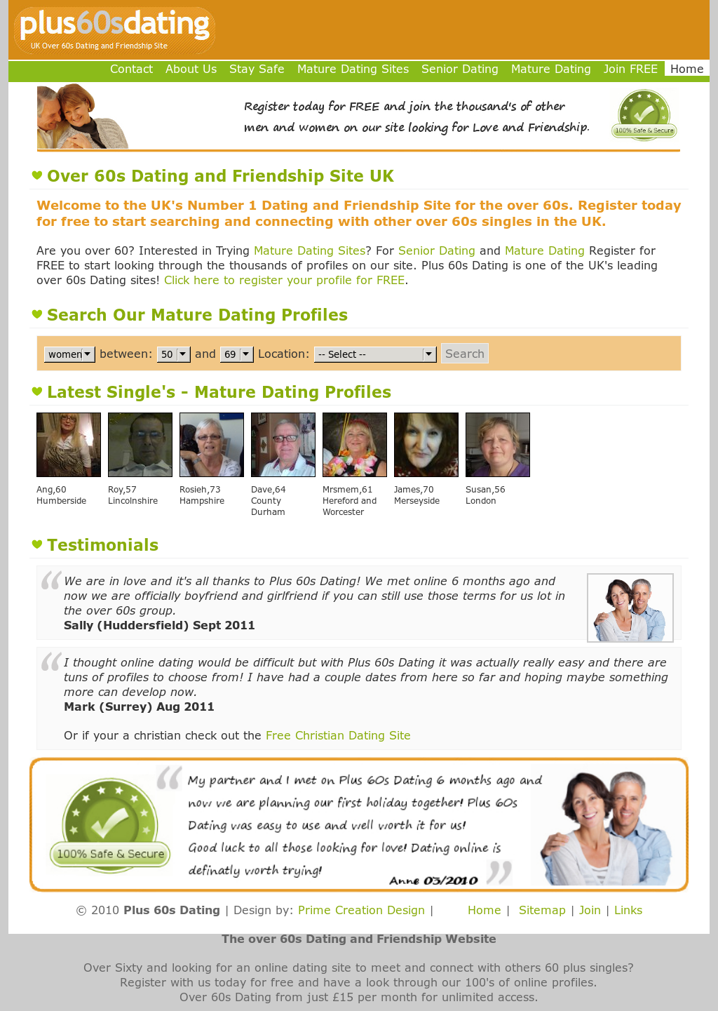 Beste 100 gratis Dating Sites 2011