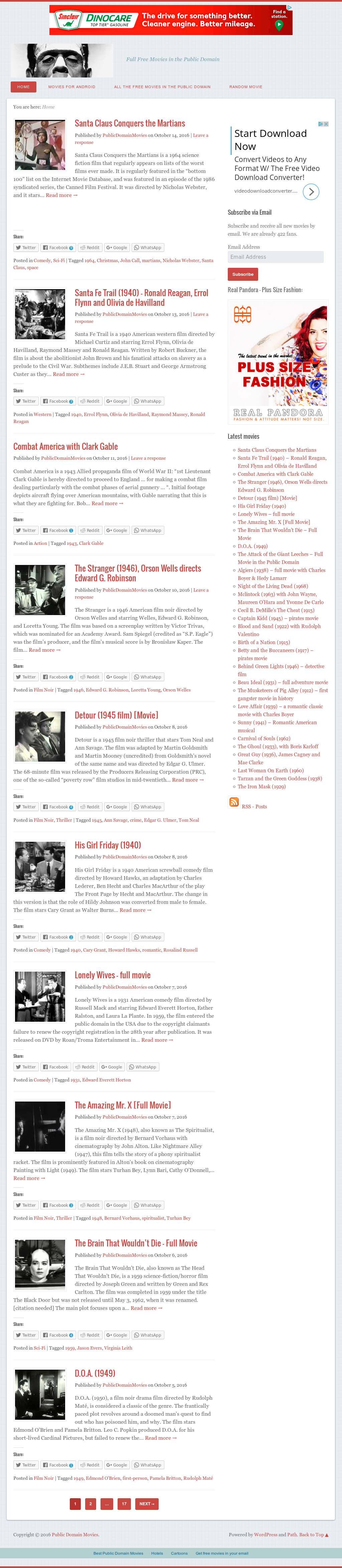 Public Domain Movies Competitors, Revenue and Employees