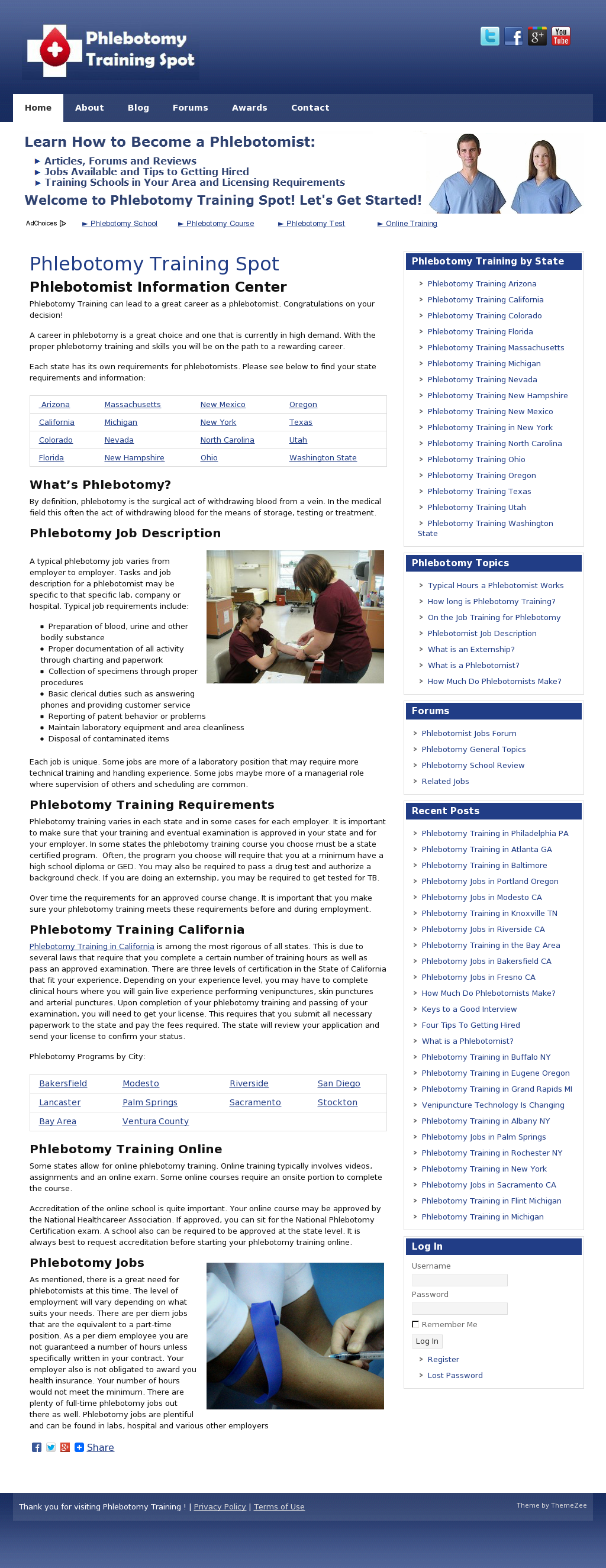 Phlebotomy Training Spot Company Profile Revenue Number Of