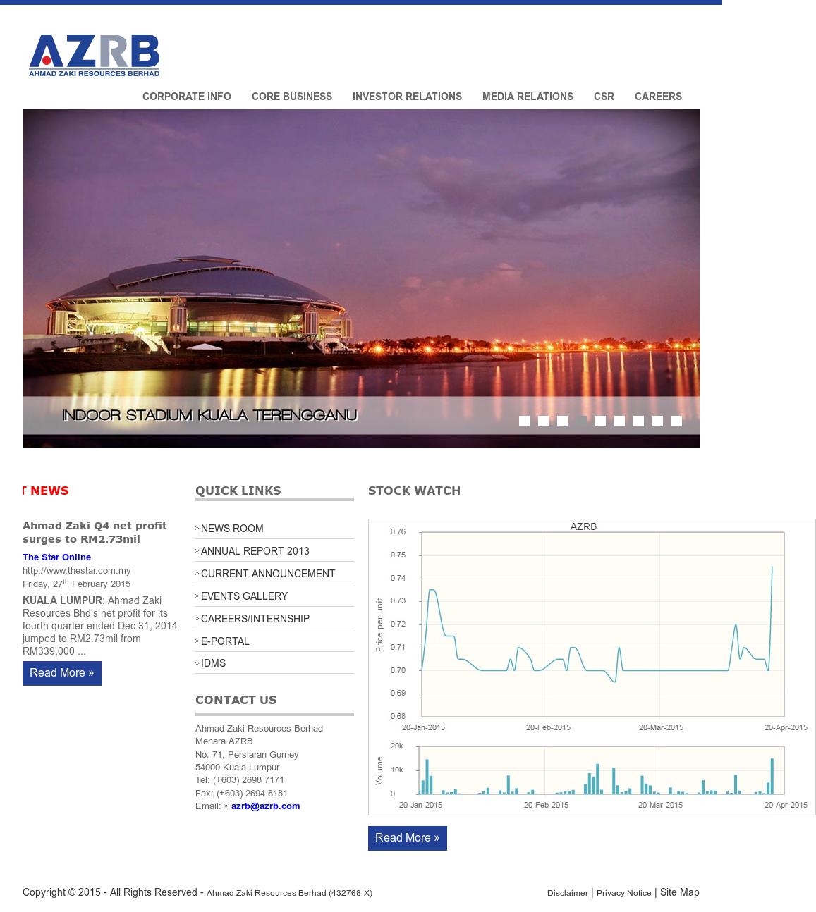 Ahmad Zaki Resources Berhad Competitors, Revenue and Employees
