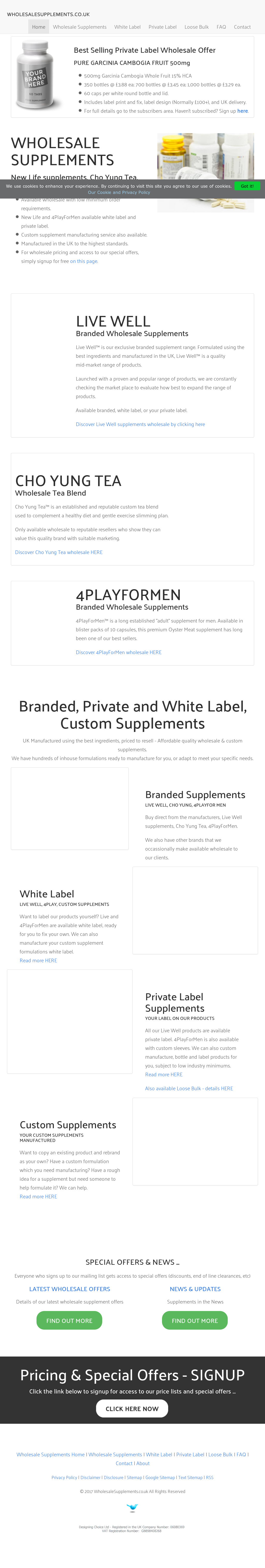 Wholesale Supplements Uk Competitors, Revenue and Employees - Owler