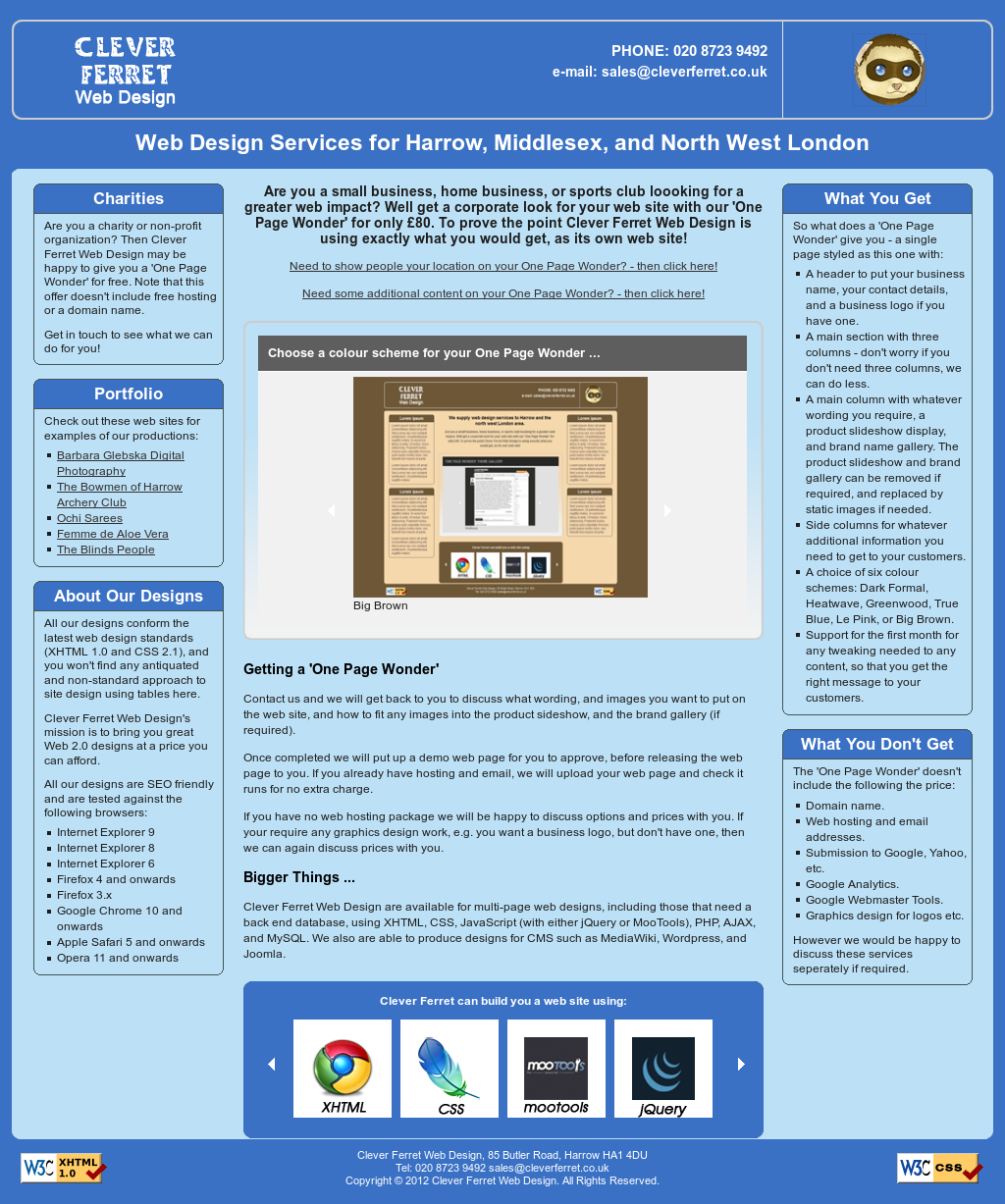 Cleverferret Web Design Competitors, Revenue and Employees