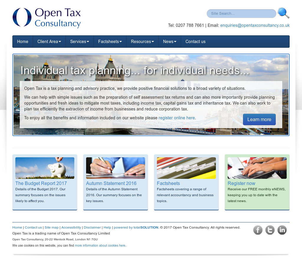 Open Tax Consultancy Competitors, Revenue and Employees