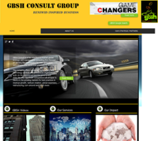 GBSH Consult Group website history