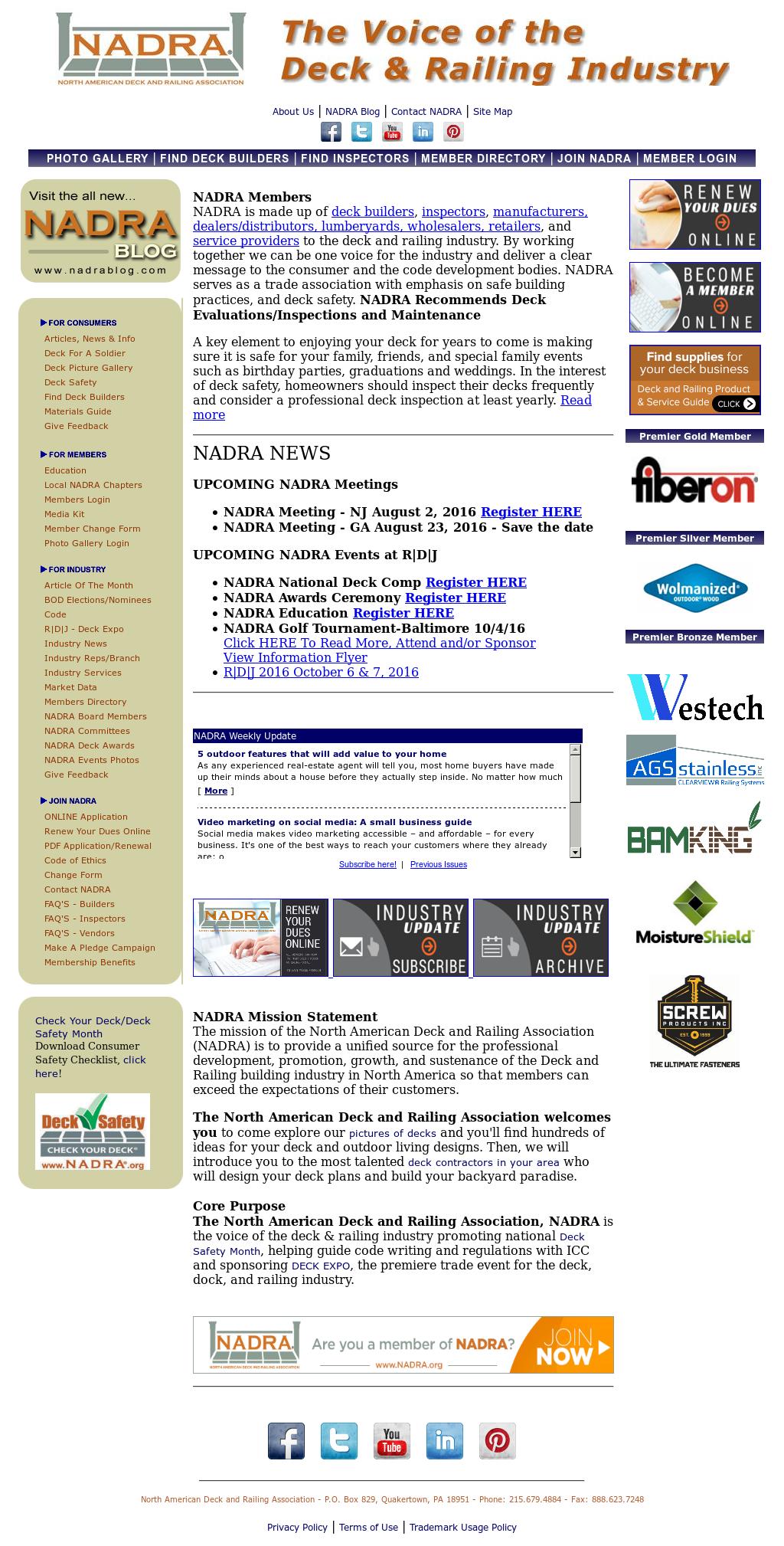Owler Reports - Press Release: Nadra : Hanley Wood Announced