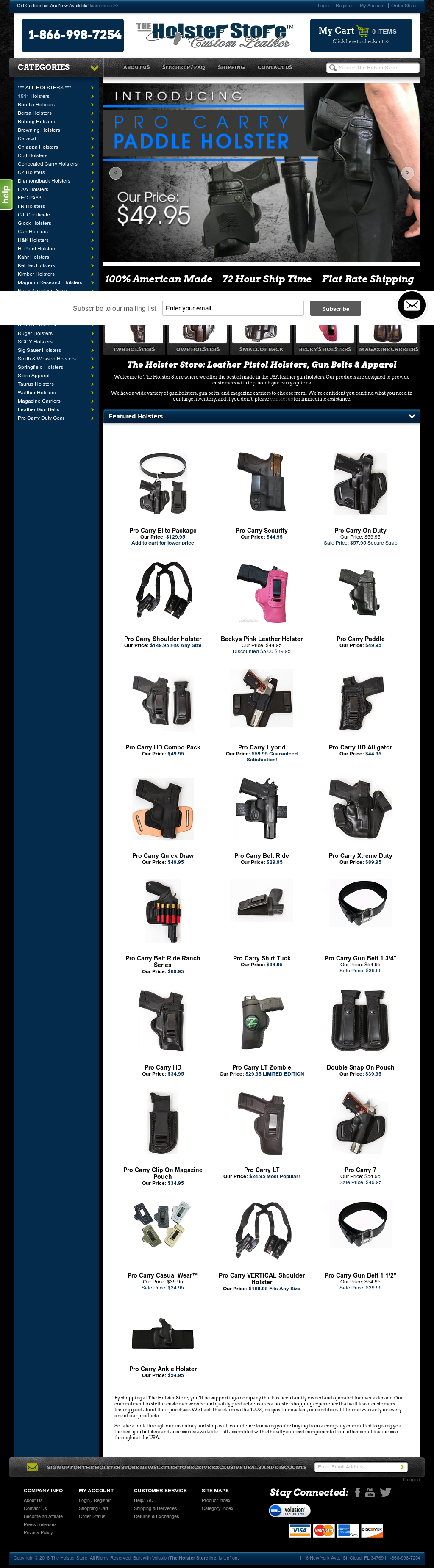 The Holster Store Competitors, Revenue and Employees - Owler Company