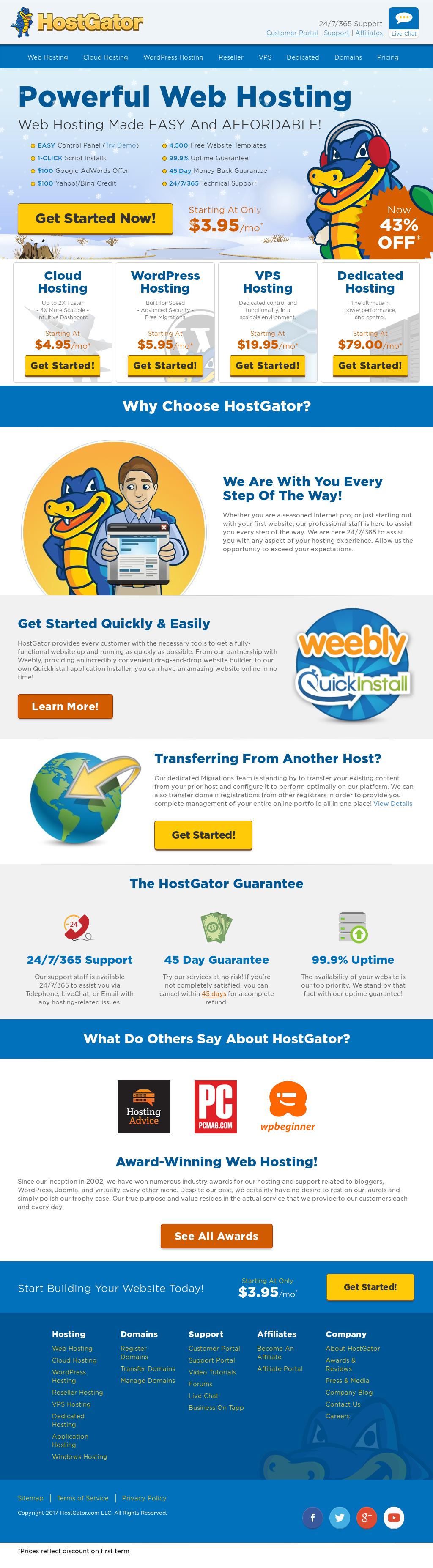 HostGator Competitors Revenue And Employees Owler Company Profile - Hostgator website templates