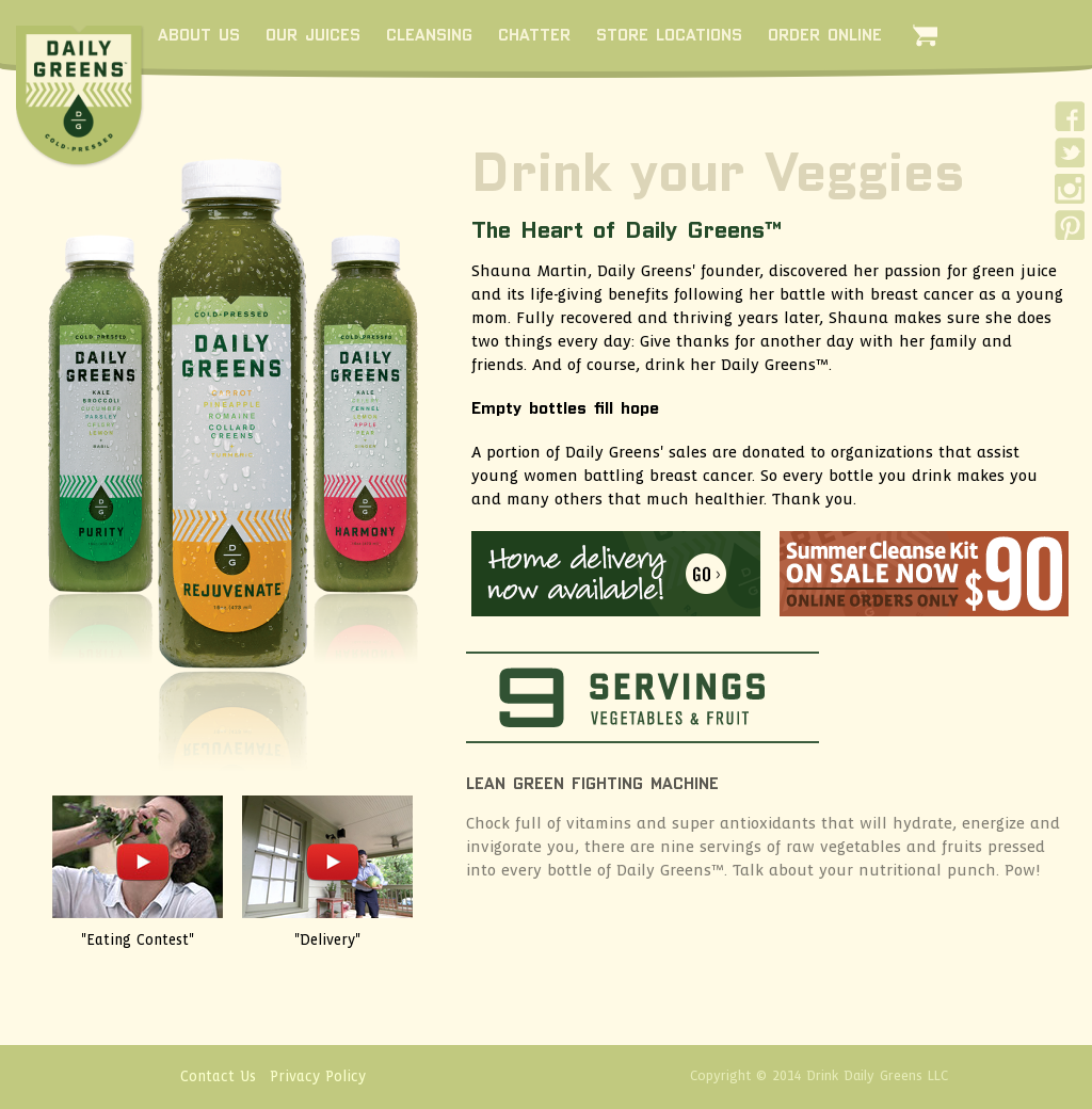 Daily greens competitors revenue and employees company profile daily greens website history malvernweather Images