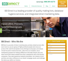 BB Direct website history