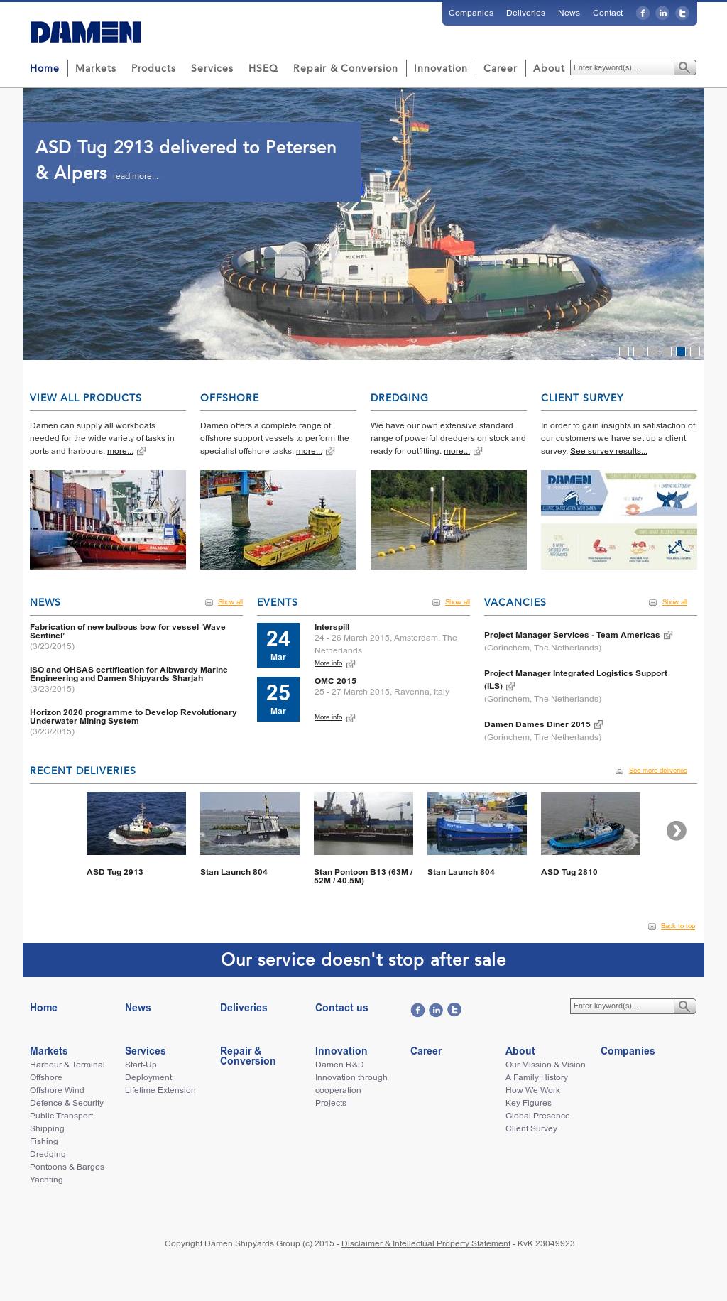 Damen Competitors, Revenue and Employees - Owler Company Profile