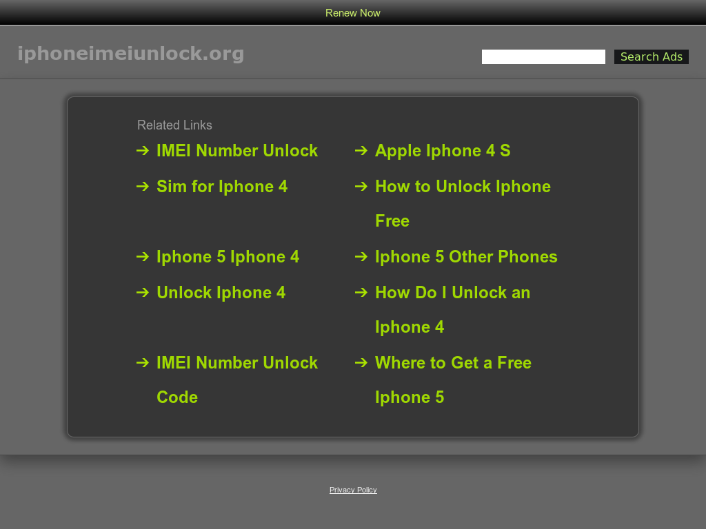Iphone Imei Unlock Competitors, Revenue and Employees - Owler