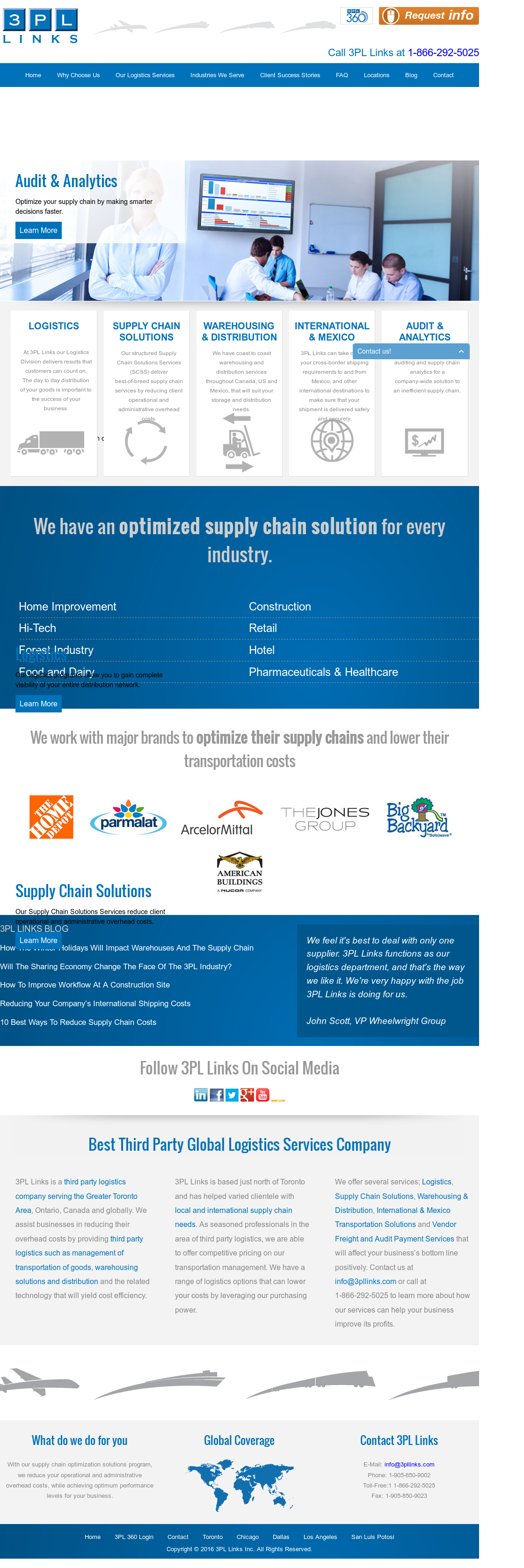 3PL Links Competitors, Revenue and Employees - Owler Company Profile