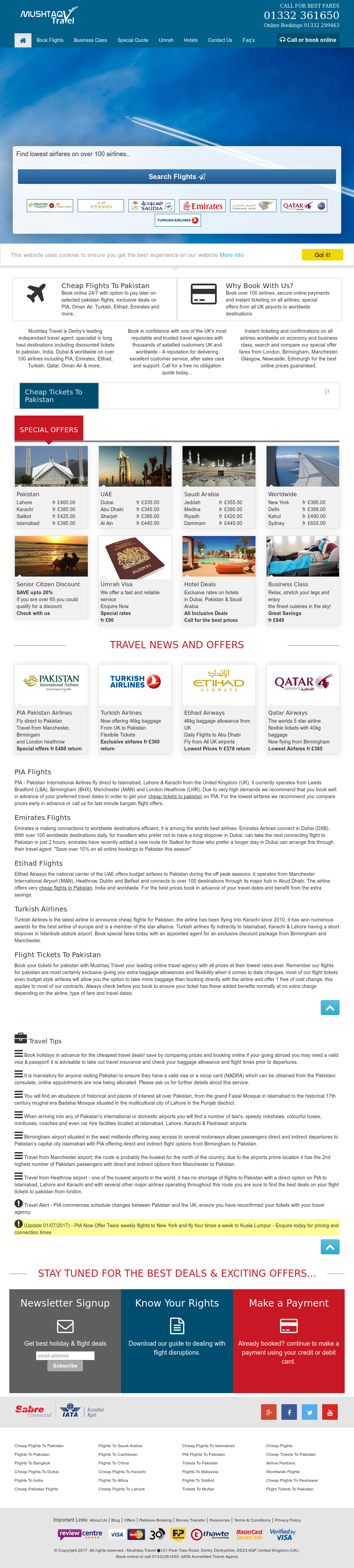 Mushtaq Travel Competitors, Revenue and Employees - Owler
