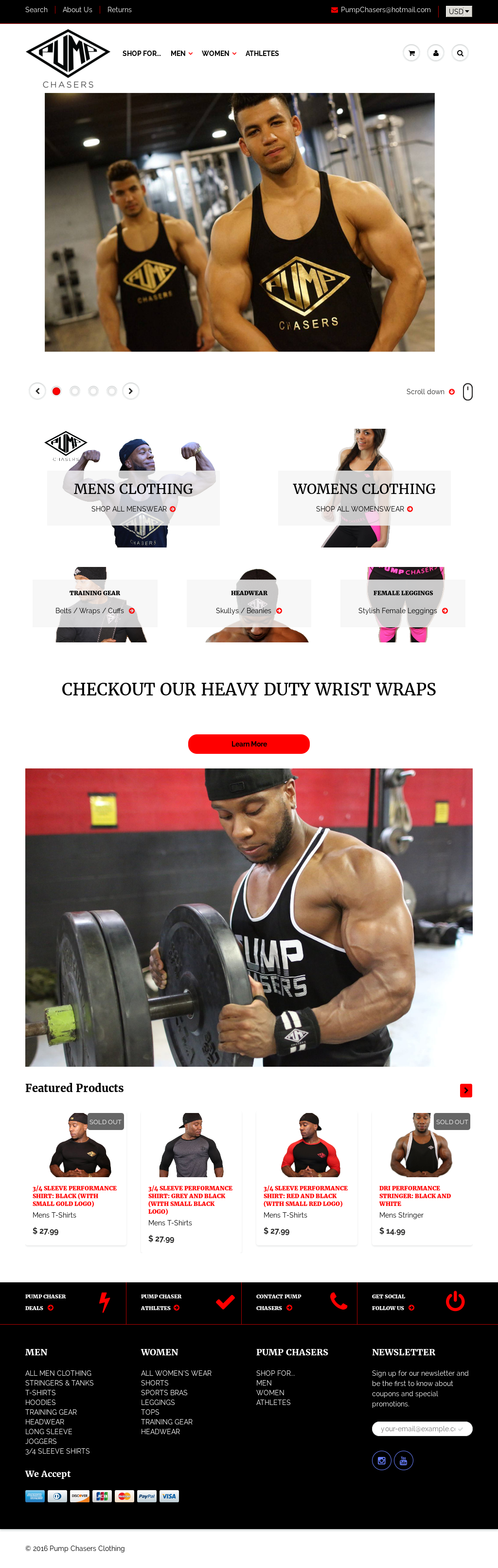 0d398e5852df3 Pump Chasers Clothing Competitors