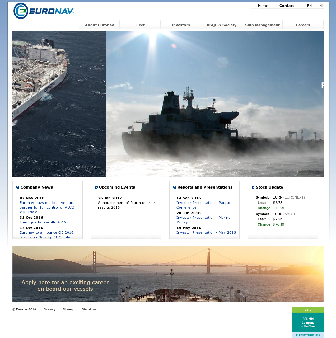 Euronav Competitors, Revenue and Employees - Owler Company