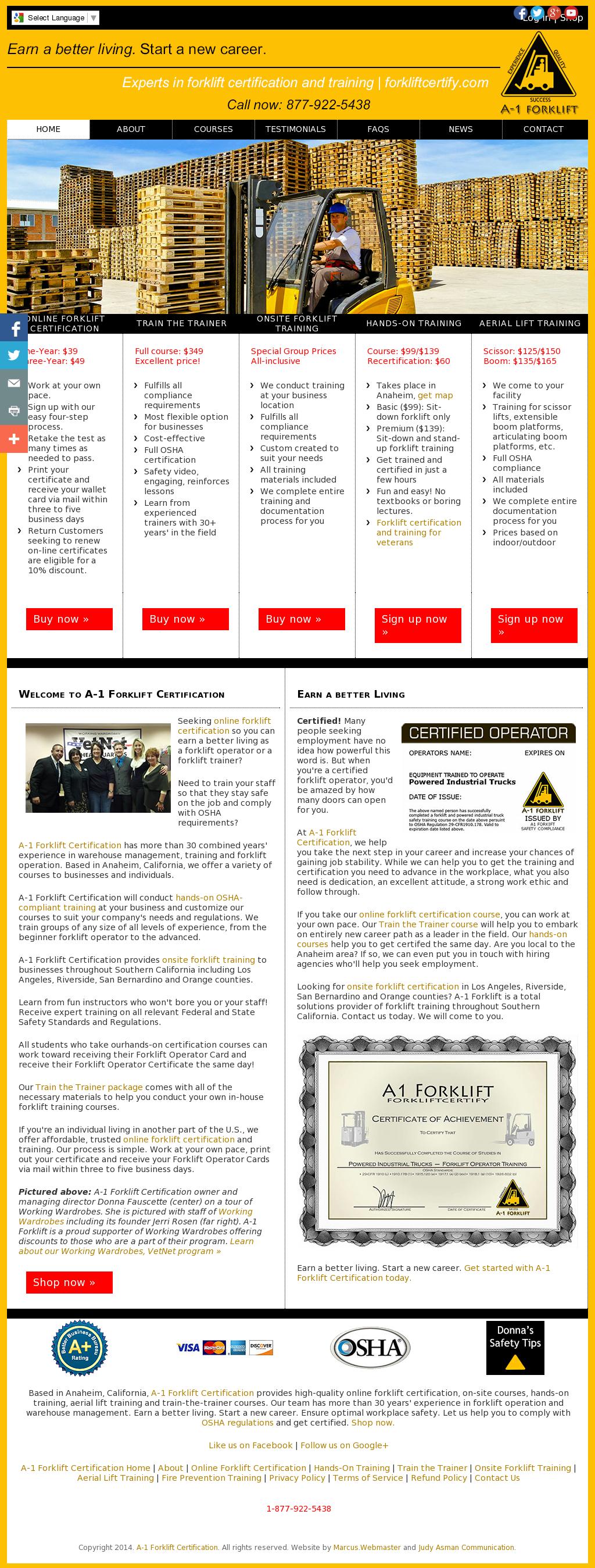 Forklift Certification In San Bernardino Choice Image Creative