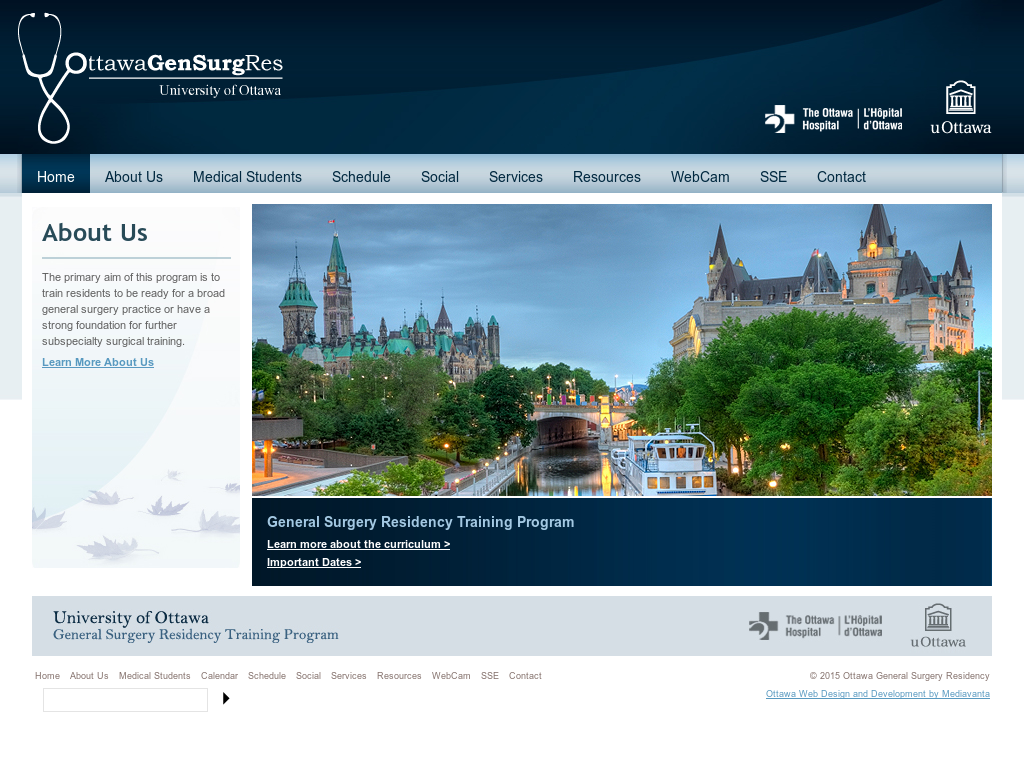 Ottawa General Surgery Residency Competitors, Revenue and