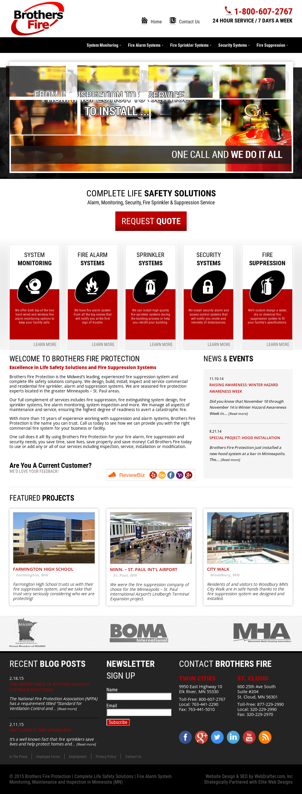 Brothers Fire Protection Competitors, Revenue and Employees - Owler ...