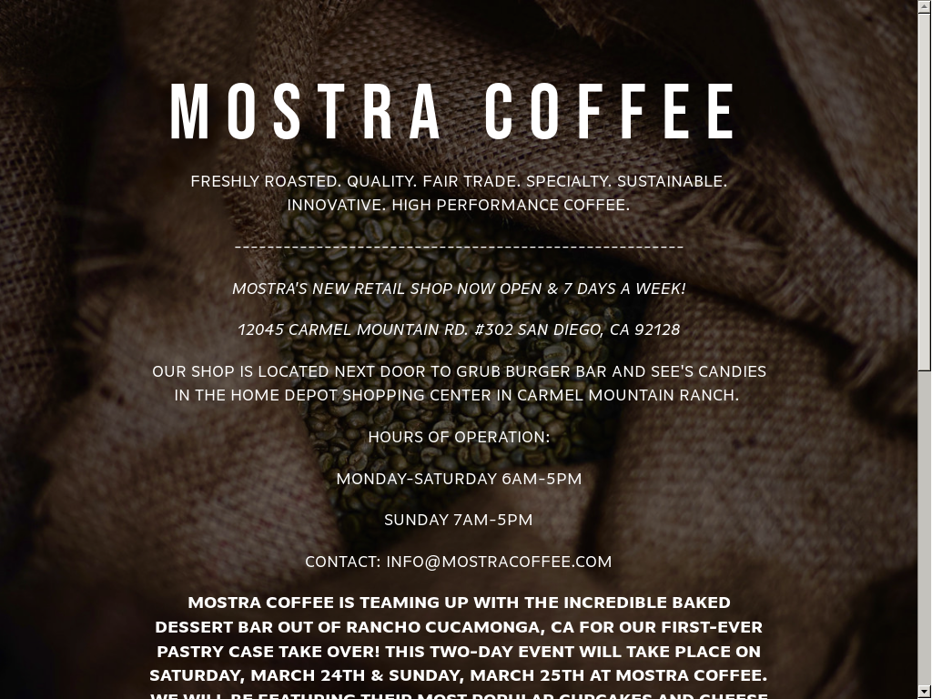 Mostra Coffee Competitors Revenue And Employees Owler