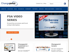 Changepoint website history