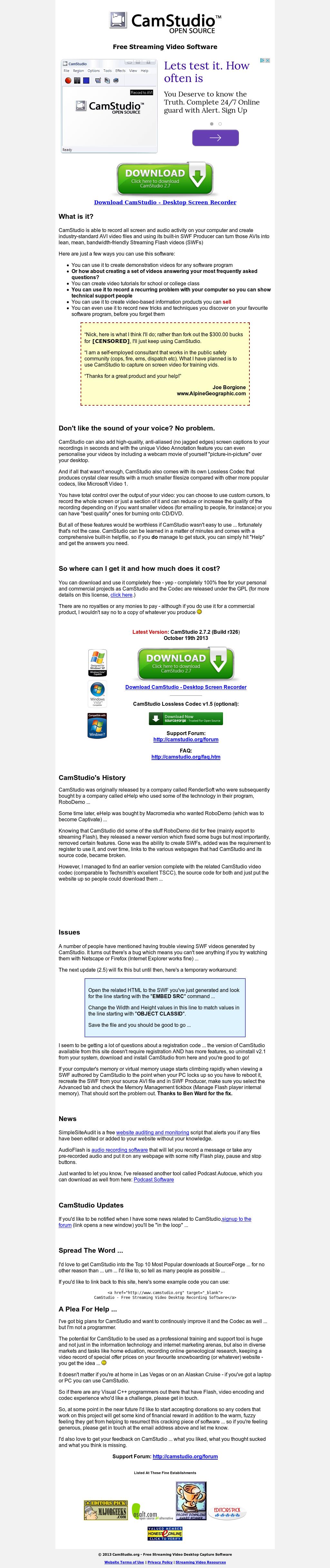 CamStudio Competitors, Revenue and Employees - Owler Company Profile