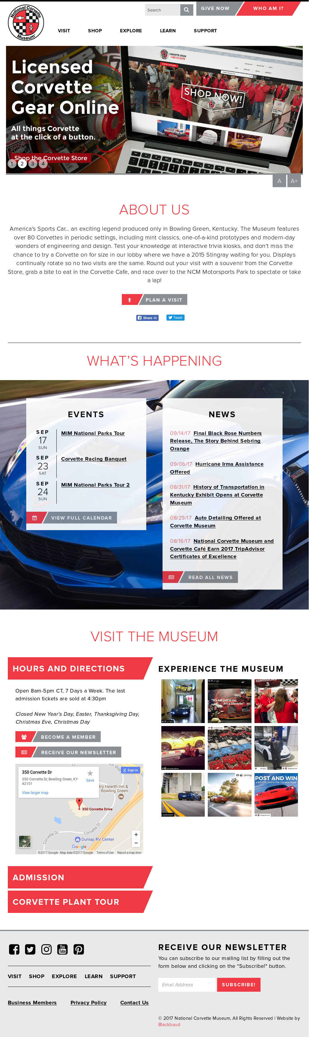 Corvettemuseum Competitors, Revenue and Employees - Owler