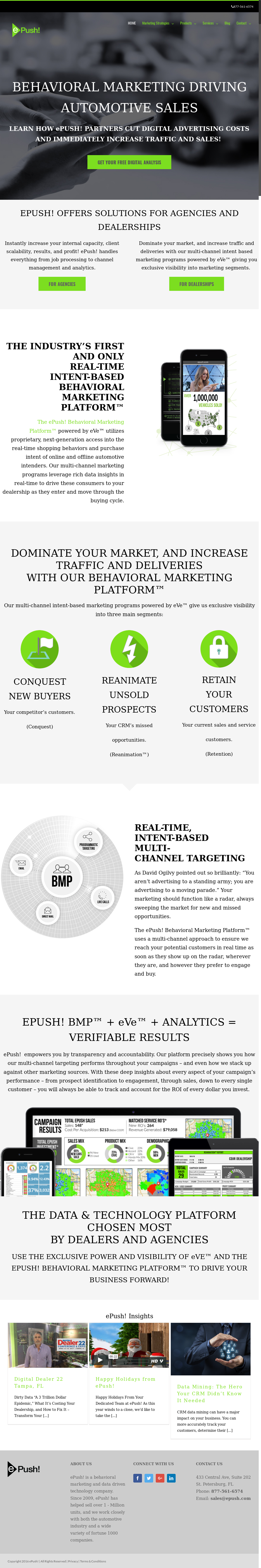 ePush website history ePush Competitors Revenue and