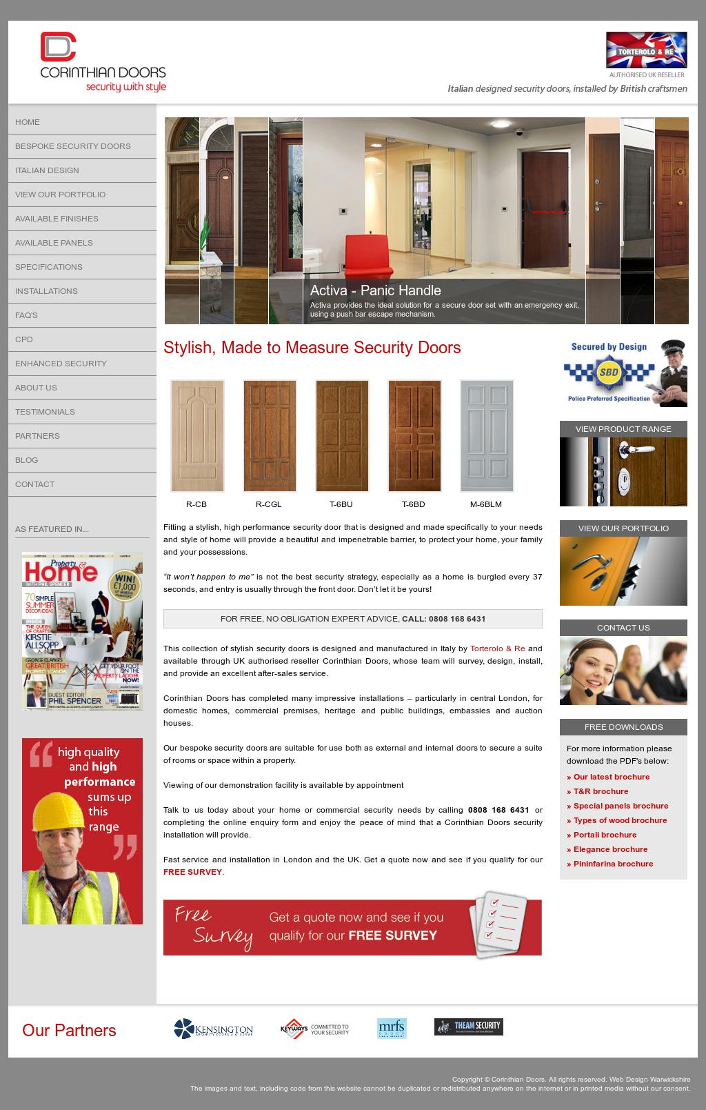 Corinthian Doors website history  sc 1 st  Owler & Corinthian Doors Competitors Revenue and Employees - Owler Company ...