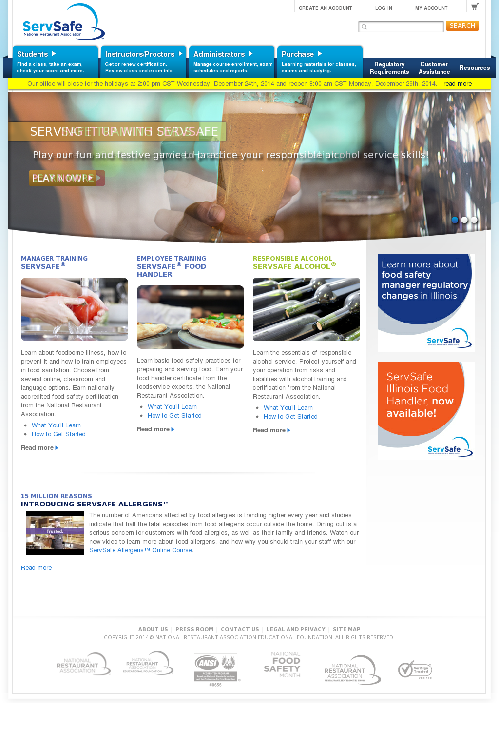 ServSafe Competitors, Revenue and Employees - Owler Company Profile