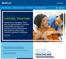 Medtronic website history