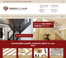 Beau Stairparts Directu0027s Website Screenshot On Sep 2017