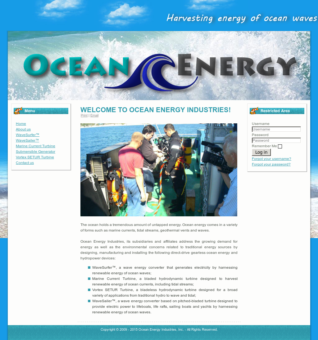 Ocean Energy Industries Competitors, Revenue and Employees