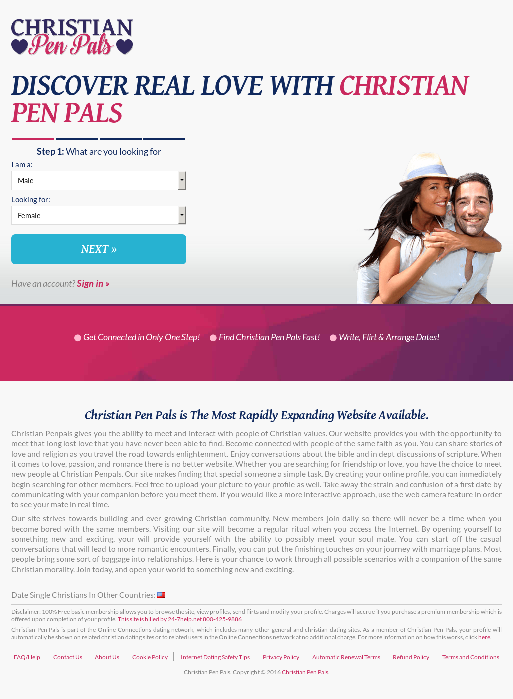Christian Pen Pals Competitors, Revenue and Employees