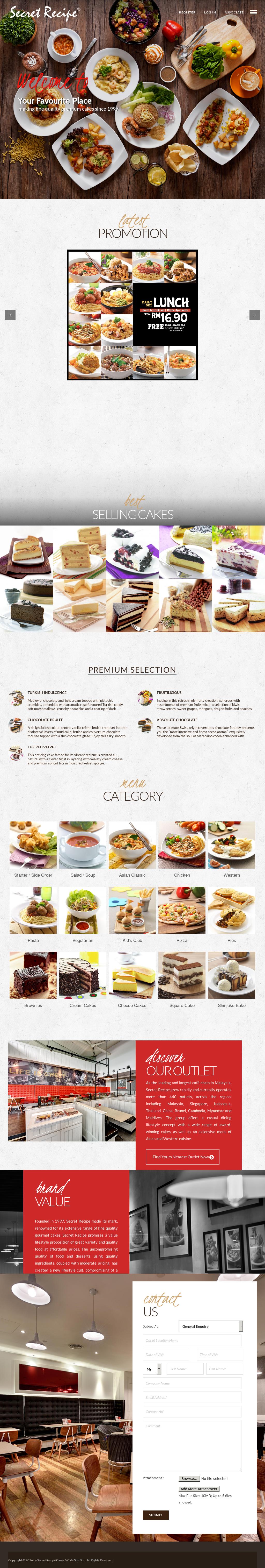 Secret Recipe Competitors, Revenue and Employees - Owler Company Profile