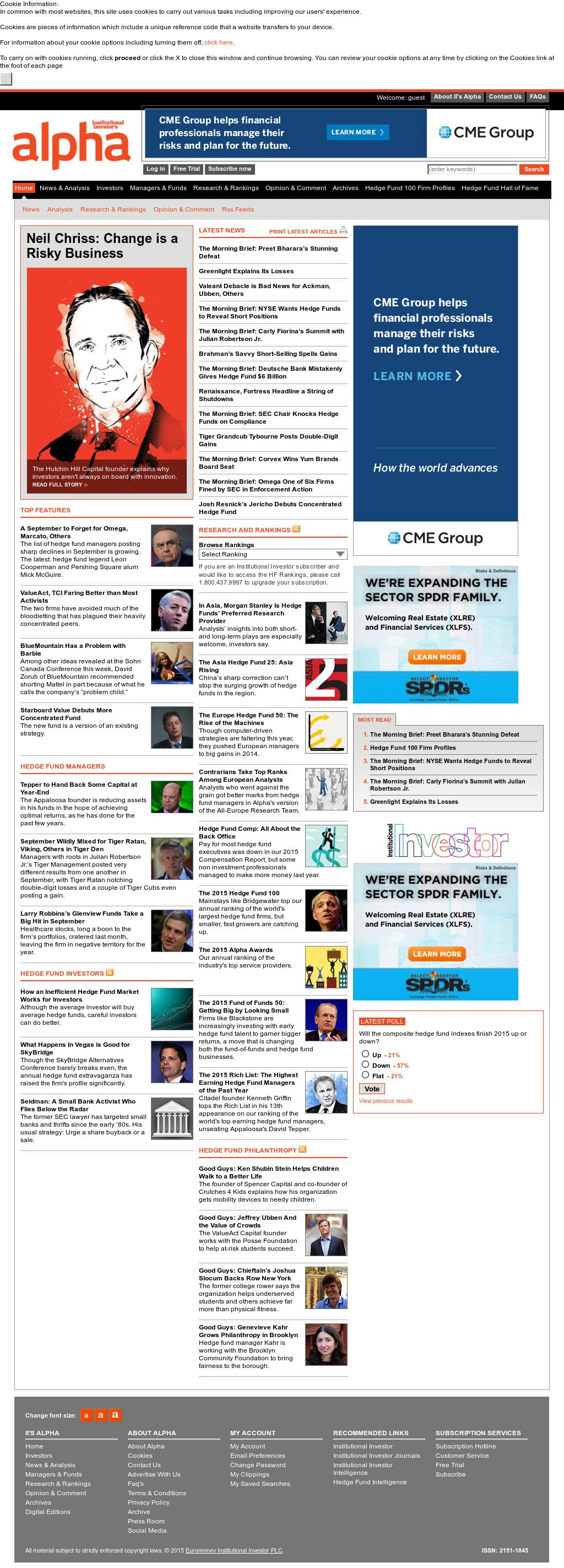 Owler Reports - Press Release: Institutional Investors Alpha : James