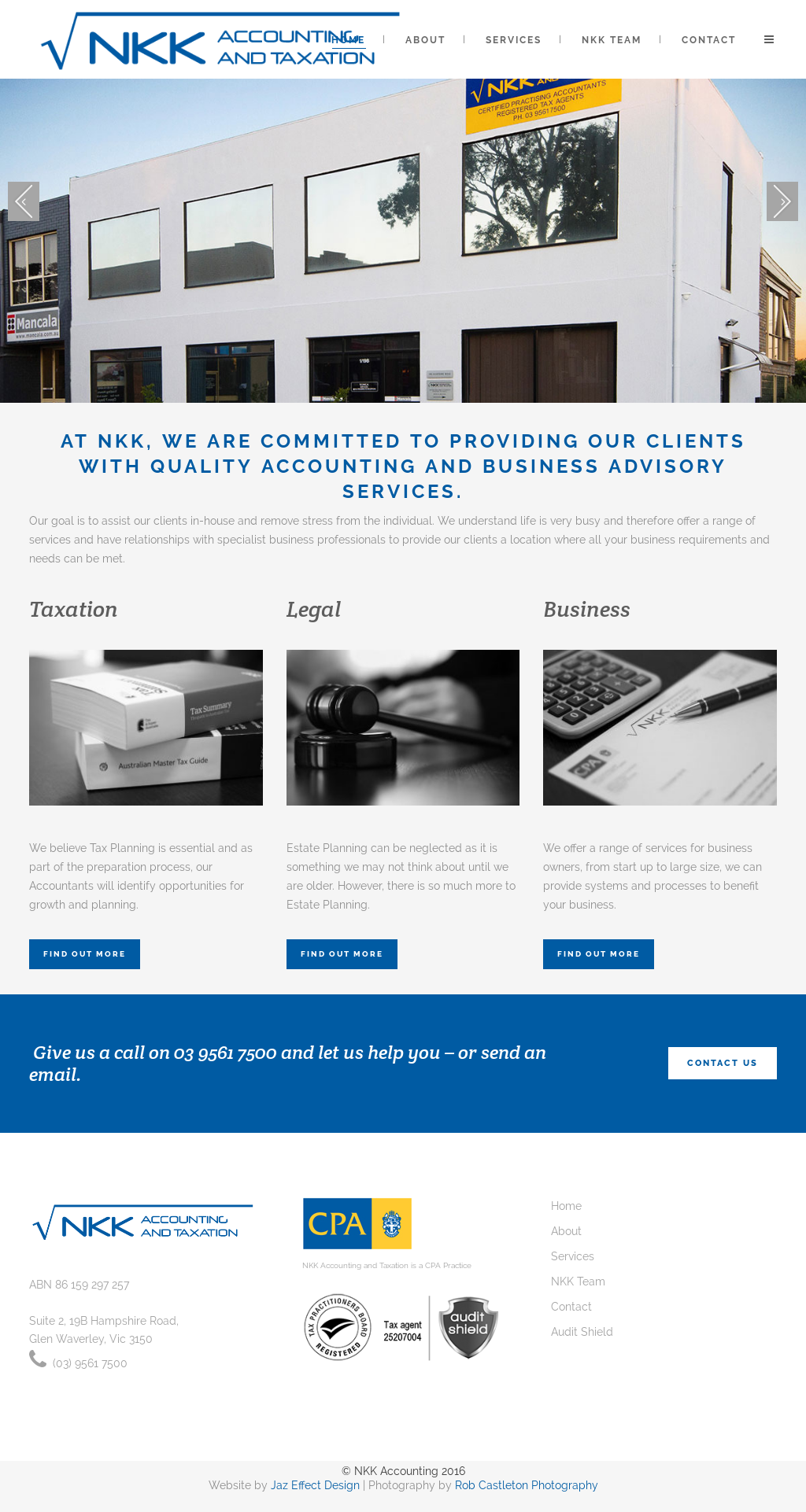 Nkk Accounting And Taxation website history