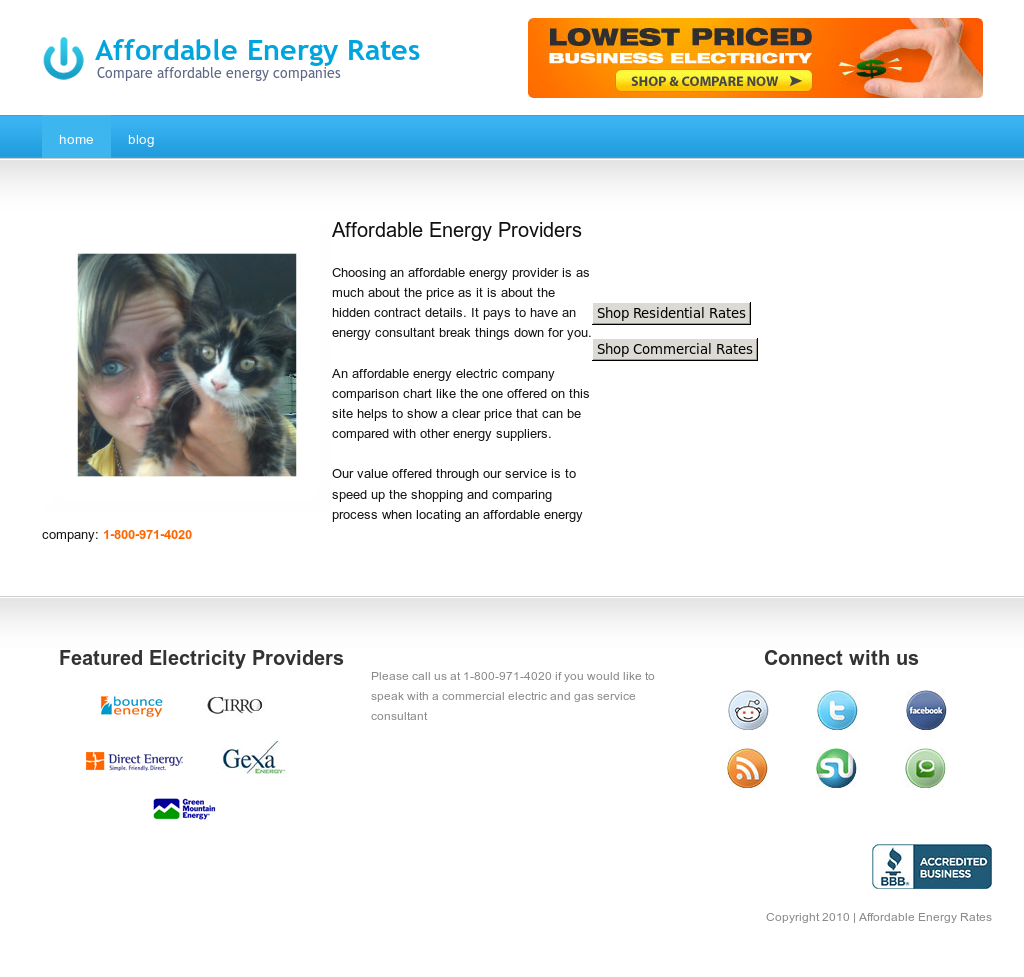 Affordable Energy Rates Competitors, Revenue and Employees