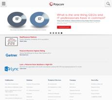 Polycom website history