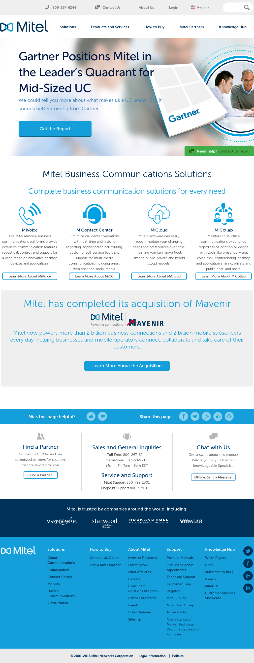 Mitel Competitors, Revenue and Employees - Owler Company Profile