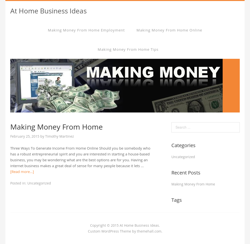 At Home Business Ideas Competitors, Revenue and Employees - Owler ...