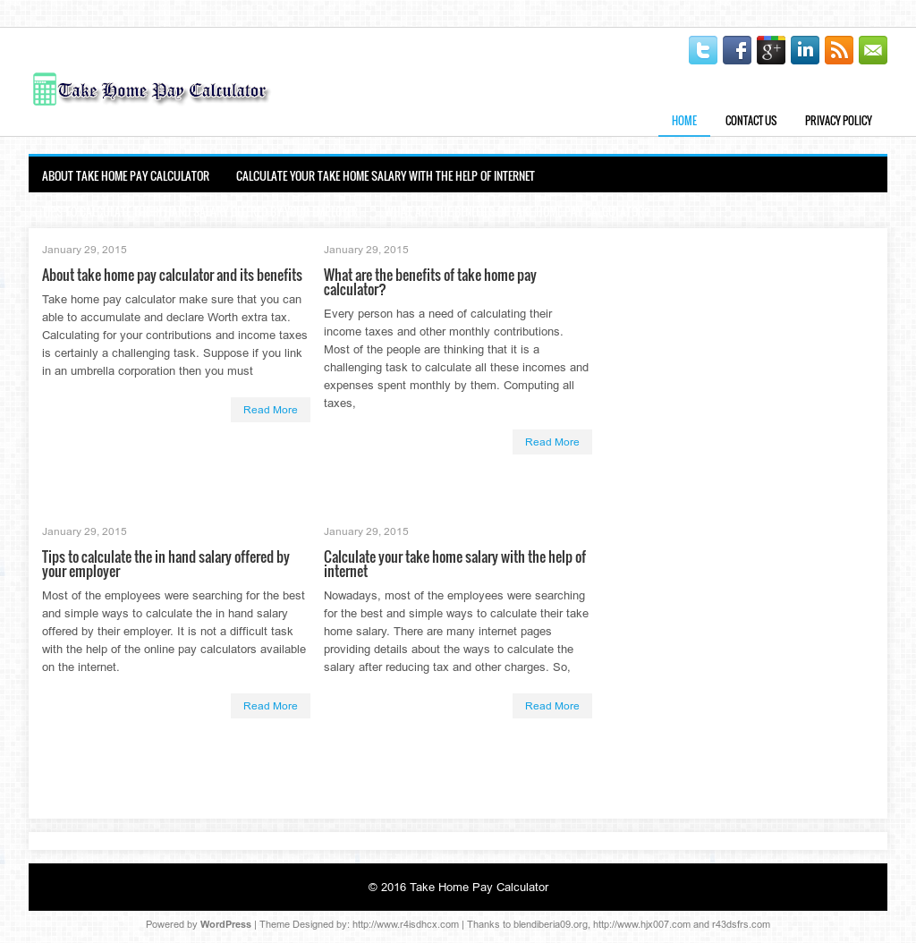 take home pay calculator competitors revenue and employees owler