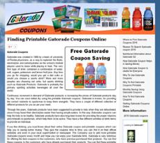 photograph about Gatorade Coupons Printable called Gatorade Coupon codes Compeors, Profits and Staff members - Owler