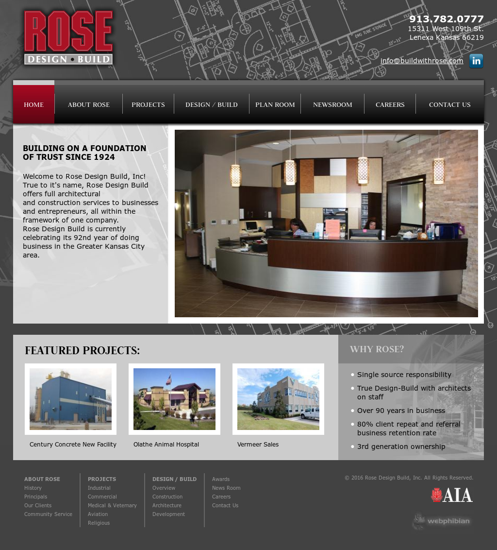 Rose design build competitors revenue and employees for Design build companies