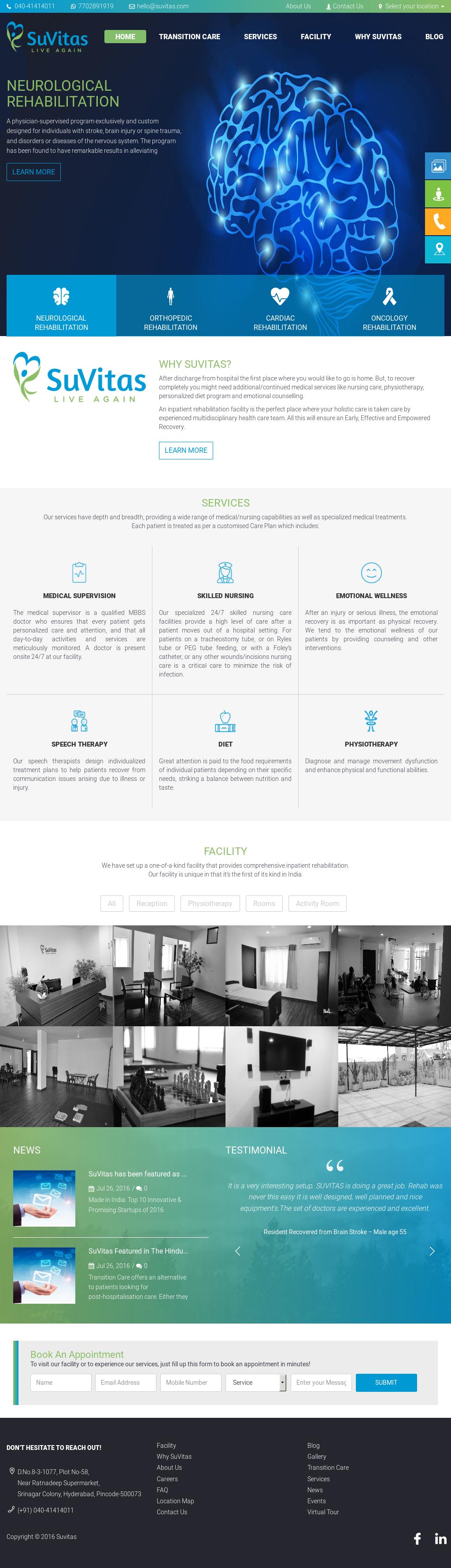 Owler Reports - SuVitas Blog SuVitas Launches Bangalore's