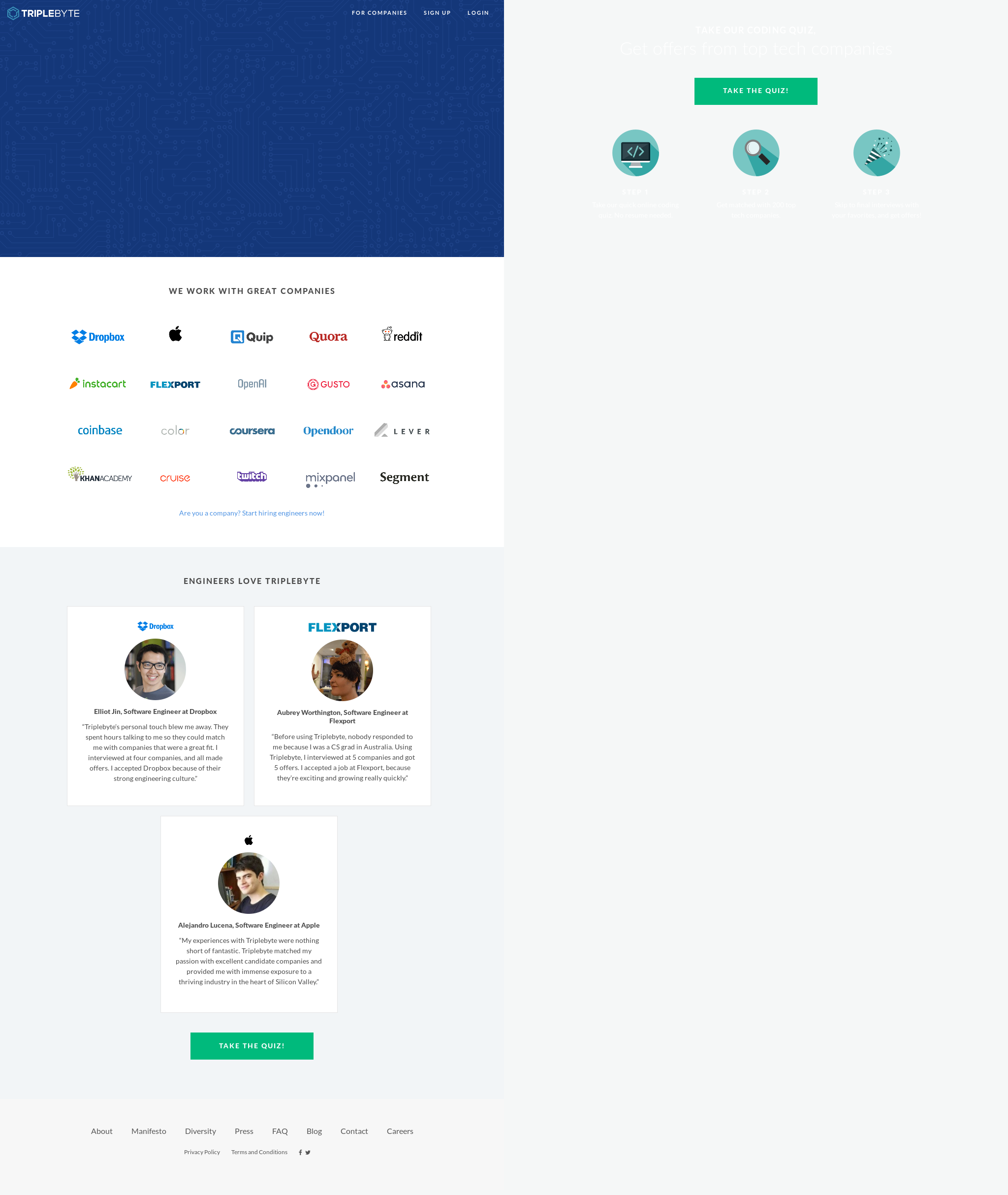 Triplebyte Competitors, Revenue and Employees - Owler Company Profile