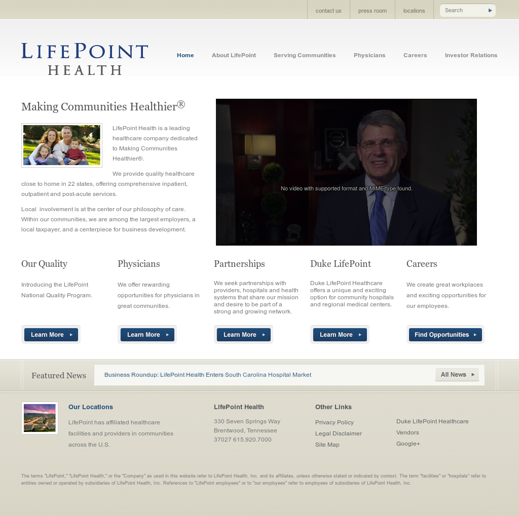 Lifepoint Health Competitors, Revenue and Employees - Owler Company