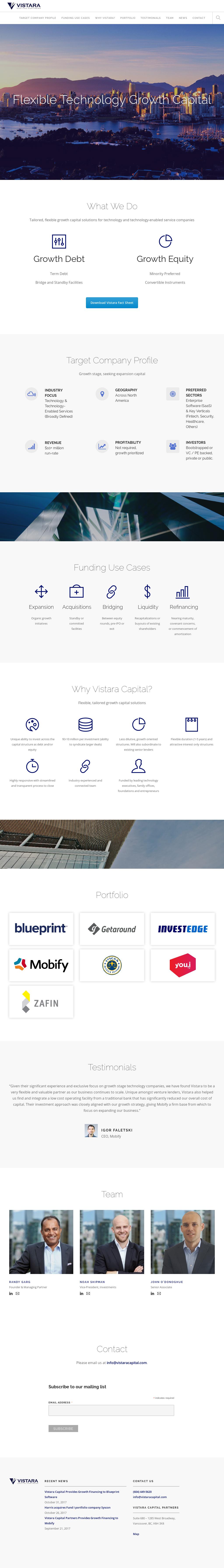 Vistara capital partners competitors revenue and employees owler vistara capital partners website history malvernweather Image collections
